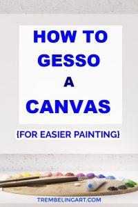 artist canvas and paint palette