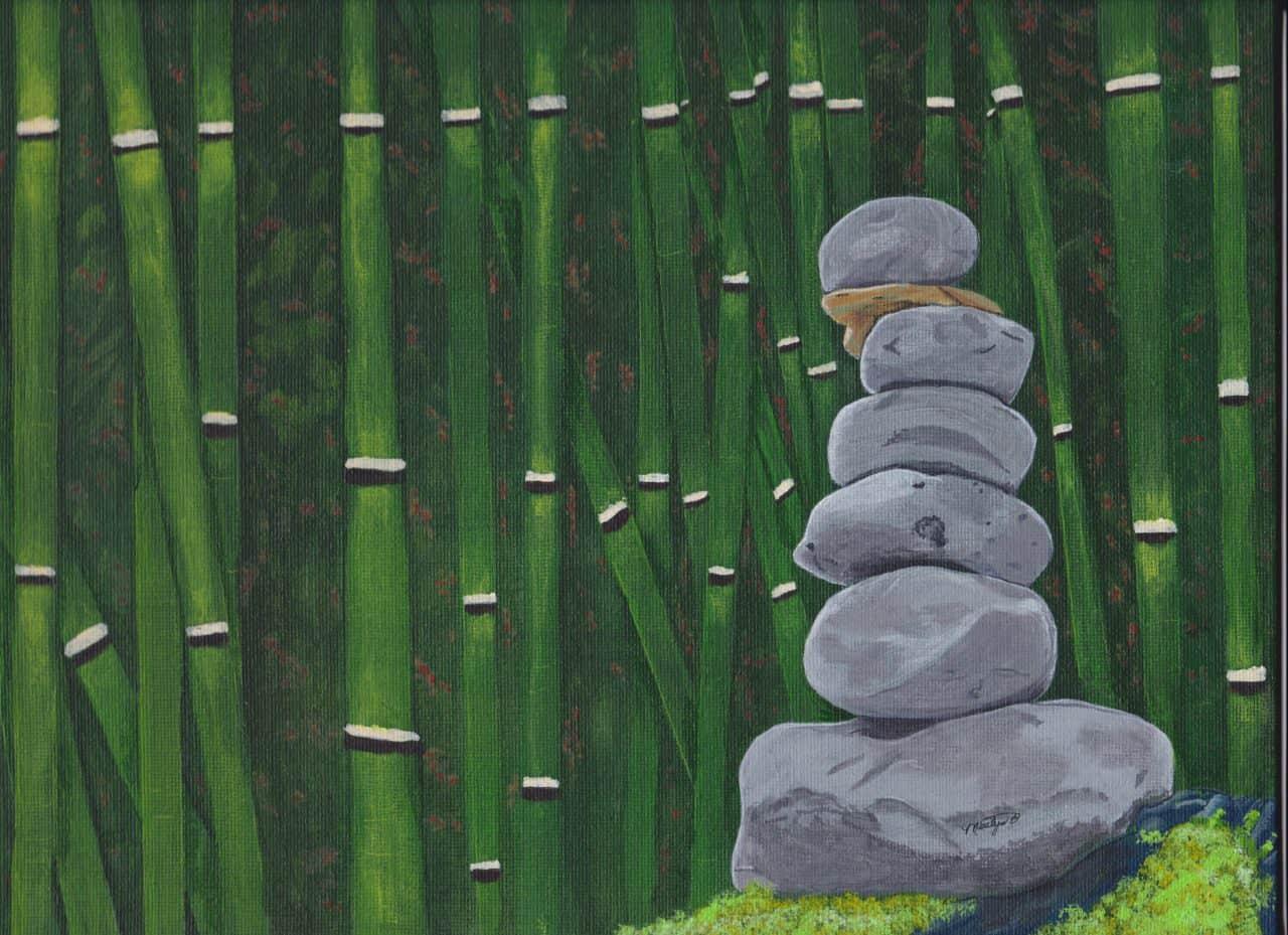 Zen Garden Painting