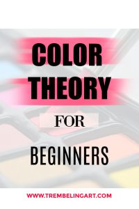 painting palette with text overlay color theory for beginners