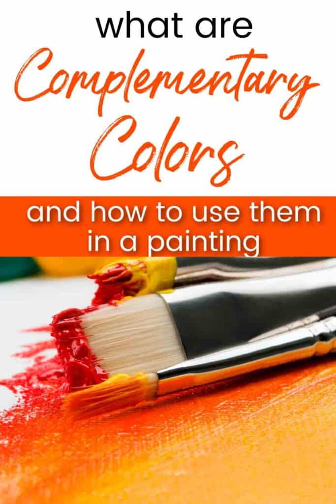 paint brushes with orange and yellow paint