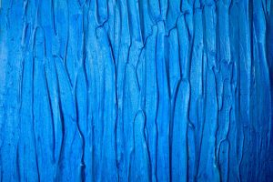textured blue paint
