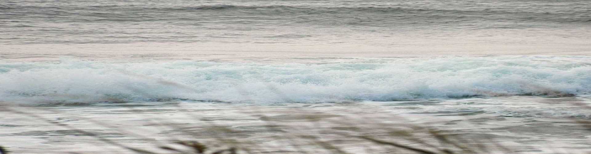 ocean and white surf
