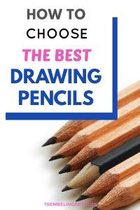 graphite drawing pencils