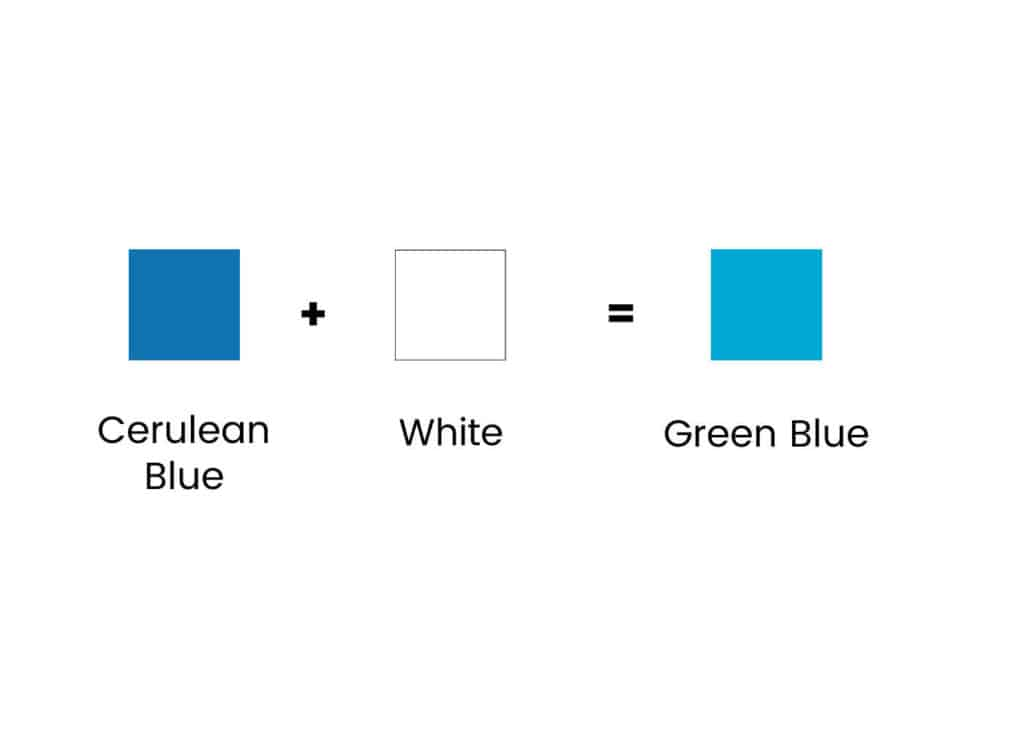 blue and white squares