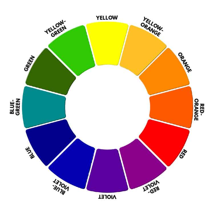 tertiary color wheel