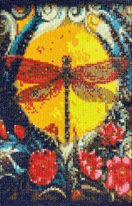 dragonfly diamond painting