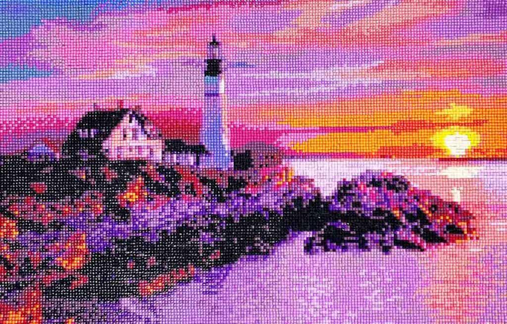 lighthouse diamond painting